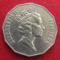 Fiji 50 Cents 1986 KM# 54 - Fiji