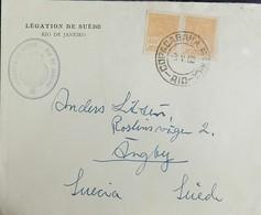 O) 1922 CIRCA-BRAZIL, MERCURY  SCT 255 600r -LEGATION DE SUEDE, XF - Brazil
