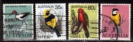 Australia,- Birds. Lot Of Four Different Stamps. CancelledNH. - Parrots