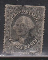 USA Scott # 36 Used - Average Condition - See Scan - CV $350.00 - Used Stamps