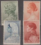SURINAM - 1940 Women. Scott B30-33. MNH But Gum Discoloration - Surinam ... - 1975