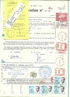 Procuration De 1981 à 1995 Affr Baudouin (100f + Velghe + Mécaniques ++)) De HUY. - 1981-1990 Velghe