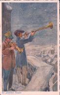 Ein Glückliches Neujahr, Neige, Clairon Et Trompette (347) - New Year