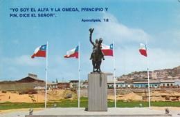 IV REGION. CHILE. MONUMENTO A BERNARDO O'HIGGINGS, COQUIMBO. SODISAR LTDA. NON CIRCULEE CIRCA 1970s - BLEUP - Chili