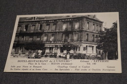 Sedan,l'Hotel Restaurant De L'Univers,Ardennes,très Belle Carte Ancienne,collector - Givet