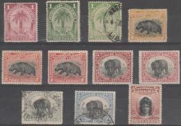 LIBERIA - 1897-1905 Mixed Mint And Used (includes Shades). Scott 54-63 - Liberia