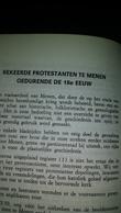 Publicatie BEKEERDE PROTESTANTEN TE MENEN - 19de Eeuw - Vieux Papiers