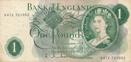 Billet  De Banque  England  1 Pound London - 1952-… : Elizabeth II