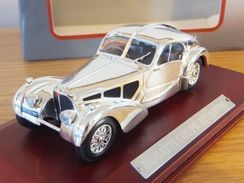 Atlas - BUGATTI COUPE ATLANTIC Silver Cars Collection NBO 1/43 - Voitures, Camions, Bus