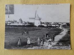Dep 17 , Cpm ILE De RE , ARS En RE , Les Moulin De La Boire , Image D'Autrefois (105) - Ile De Ré