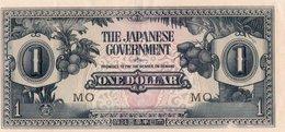 MALAYA JAPANESE GOV,=N/D   1  DOLLAR    P-M-5   UNC - Banknotes