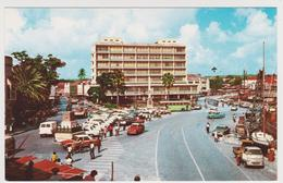 1185/ BARBADOS Bridgetown.- Bus. Cars, Voitures, Coches, Macchine, Autos.- Non écrite. Unused. No Escrita. Non Scritta. - Barbades