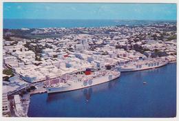 "1186/ BERMUDA, Hamilton  Harbour, Ships: Steamers ""Franconia"" & ""Olympia"".- Non écrite. Unused. No Escrita. Non Scritta. - Bermuda"