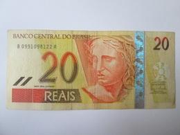 Brazil 20 Reais 2002-2010 Banknote - Brésil