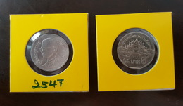 Thailand Coin Circulation 5 Baht Year 2004 UNC - Thailand