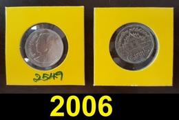 Thailand Coin Circulation 5 Baht Year 2006 UNC - Thailand