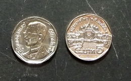 Thailand Coin Circulation 5 Baht Year 2007 UNC - Thailand