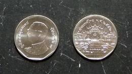 Thailand Coin Circulation 5 Baht Year 2009 UNC - Thaïlande