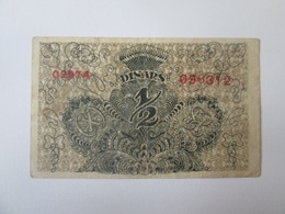 The Kingdom Of Yugoslavia 1/2 Dinars/Dinara 1919 Banknote - Yugoslavia