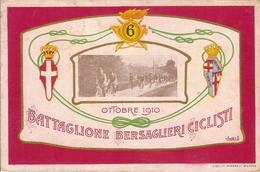 (CM).6° Battaglione Bersaglieri Ciclisti.F.to Piccolo.Viaggiata (150-a17) - Regiments