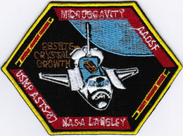 Human Space Flights STS-87 #2 Columbia (24) USA Iron On Embroidered Patch - Patches
