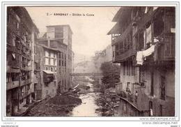07 ANNONAY Rivière La Cance CPA  Ed Unis France N°2 - Annonay