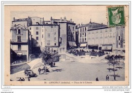 07 ANNONAY Place De La Liberté  CPA N°20 - Annonay