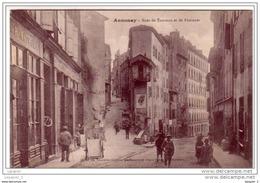 07 ANNONAY Rues De Tournon Et De Fontanes  CPA Ed. Nouvelles Galeries - Annonay