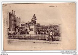 07 ANNONAY Statue De Boissy-d'Anglas CPA Ed Bonnard - Annonay