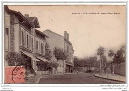 07 ANNONAY Avenue Mars Seguin   CPA Ed Du Grand Bazar De L'industrie N°138 - Annonay