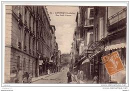 07 ANNONAY Rue Sadi Carnot CPA N°35 Ciché A. Béraud - Annonay