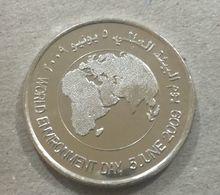 UAE 2009 UNC 1 Dirham Coin World Environment Day - United Arab Emirates