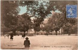 6AI 148. NANTES - LA PLACE DU GENERAL MELLINET - Nantes