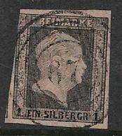 Germany, Prussia, 1850, 1 SGr Black / Rose, Used, - Prussia