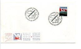 CANADA OBLITERATION EXPO CANADA 92 - Briefe U. Dokumente