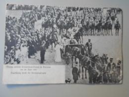 ALLEMAGNE BRANDEBOURG EINZUG UNIERES KRONPRINZEN-PAARES IN POSTDAM AM. 20 JUNI 1905 BEGRÜFRUNG DURCH.... - Potsdam