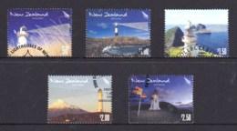 New Zealand 2009 Lighthouses Set Of 5 Used - New Zealand