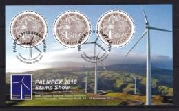New Zealand 2010 PALMPEX Stamp Show Kiwi Minisheet Used - New Zealand