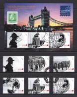 New Zealand 2010 ANZAC - Remembrance Set Of 6 + London Exhibition Minisheet Used - New Zealand