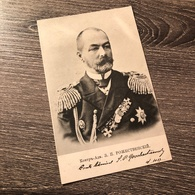 Russia Admiral Of The Imperial Russian Navy Zinovy Petrovich Rozhestvensky 1905 - Russland
