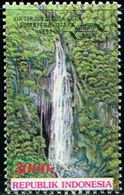 ID0446 Indonesia 1993 Waterfall Scenery Sheetlet On The Ticket 1V MNH - Indonesië