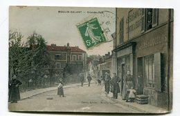 CPA  91 : MOULIN GALANT  Grande Rue Animée    VOIR  DESCRIPTIF §§§§§ - France