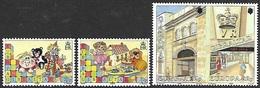 Gibralter 1989  Sc#543-4  Europas Set MLH & 563a Europas Pair MNH  2016 Scott Value $6 - Gibraltar