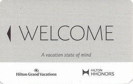 Hilton Hotel Room Key With Mag Stripe - Hotel Keycards