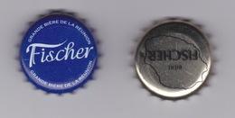 974 - ILE DE LA REUNION - FISCHER  - CAPSULE DE BIÈRE  BIER BEER BIRRA CERVEZA CERVEJA - BRASSEE A LA REUNION - Bière