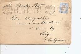 Transvaal ( Lettre De 1906 De Johannesburg Vers La Belgique à Voir) - Transvaal (1870-1909)