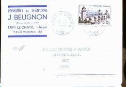 EVRY LE CHATEL PEPINIERES BEUGNON        NOUVEAUTE - Ervy-le-Chatel