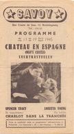 Ciné Cinema Bioscoop Pub Reclame Programma Savoy Gent - 1945 - Publicité Cinématographique