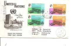 Seychelles ( FDC De 1966 Voyagé Vers Les USA à Voir) - Seychelles (...-1976)