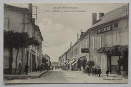 CPA Gramat, Lot, Avenue De Rocamadour, édition Astruit - Gramat